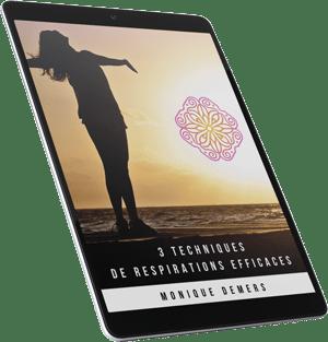 E-book : 3 techniques de respiration efficaces