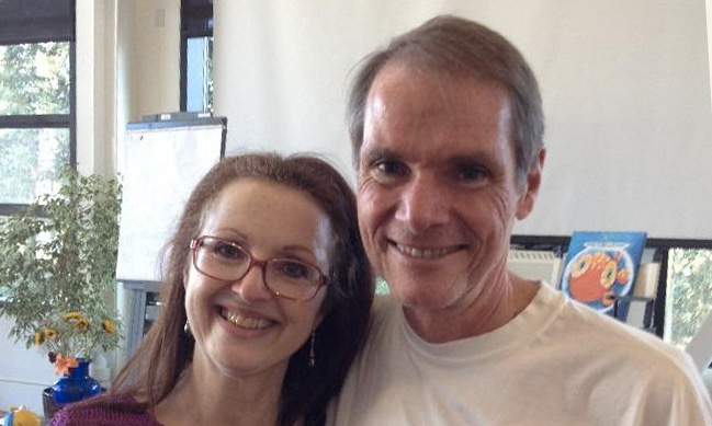 Picture of Monique Demers & Robert Dilts