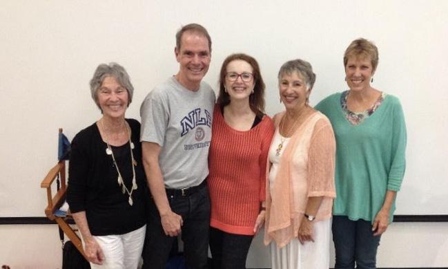Picture of NLPU Team with Robert Dilts, in Santa Cruz