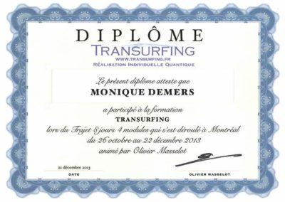 Diplôme Transurfing